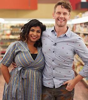 Aarti Sequeira with her hubby Brendan McNamara