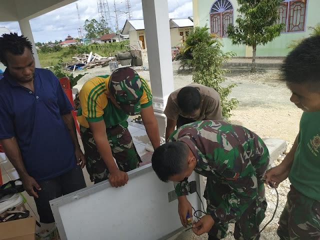 Gandeng INOAC YUKATA, Batalyon Arhanud 1 Kostrad Berikan Bantuan Kemanusiaan di Anyer