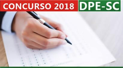 Concurso DPE-SC 2018