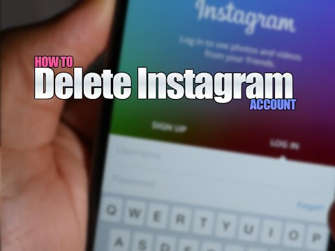 How to delete Instagram account via an Android phone