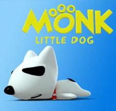 Monk Little Dog Wallpaper