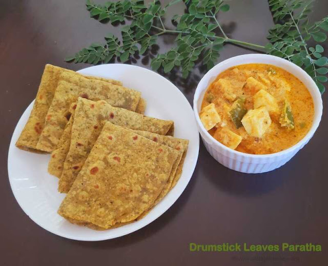 images of Drumstick Leaf Roti / Drumstick Leaves Paratha / Murunga Keerai Chapathi / Moringa Leaves Chappathi / Indian Bread With Moringa Leaves - Indian Bread Recipes