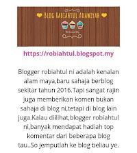 Kisah Si Dairy review my blog