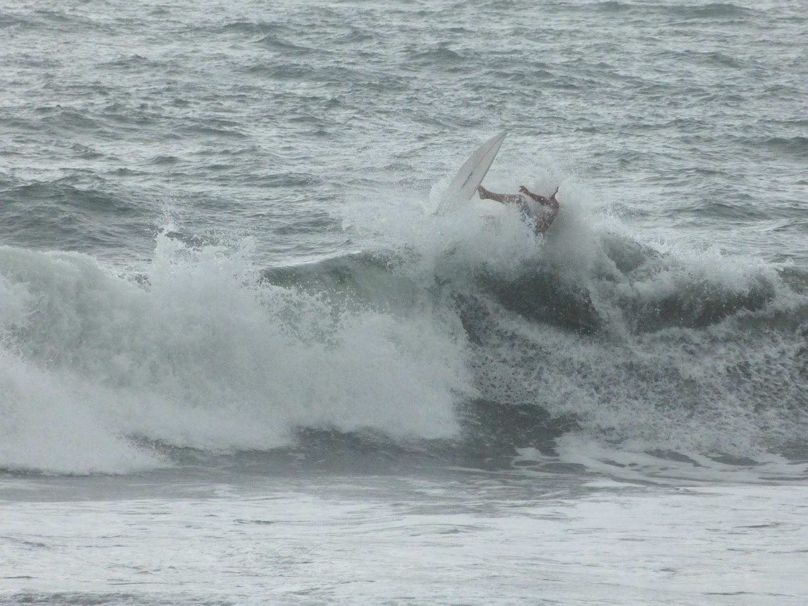 Surfer quand il pleut