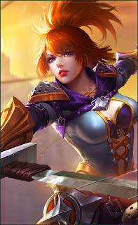 Fanny Blade Dancer Heroes Assassin of Skins V4