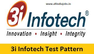3i Infotech Test Pattern