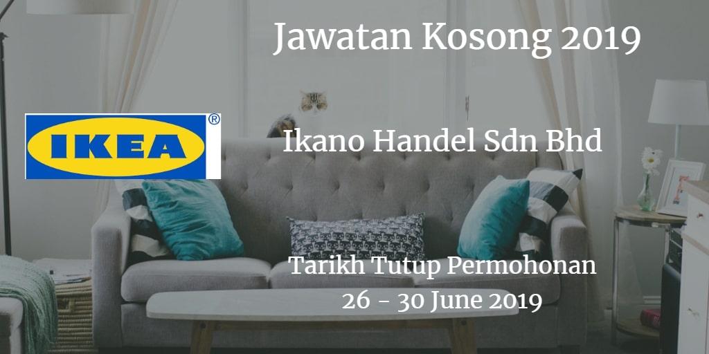 Jawatan Kosong IKEA 26 - 30 June 2019
