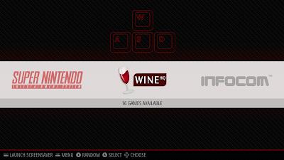 RetroPie Wine emulator item