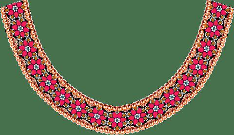 Jwellery-kurti-neck-motif-for-textile-design-7030