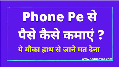 Phone Pe Refer and Earn Invite and Earn Money, PhonePe se Paise kaise kamaye