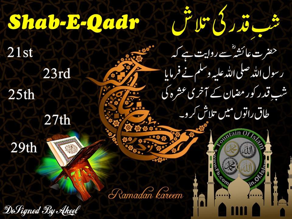 La-hasil-hi-sahi-par-mere-ho-tuM: Lailatul Qadr is better ...
