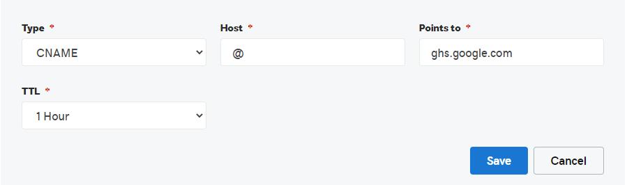 Setup GoDaddy Custom Domain On Blogger | CNAME 1