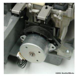 implementasi motor stepper pada printer