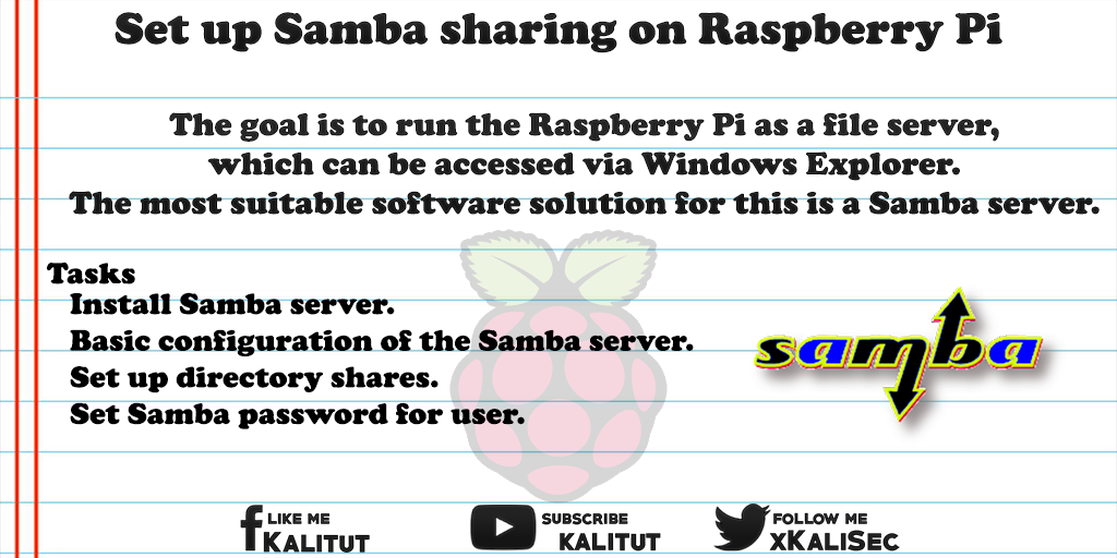 Samba sharing