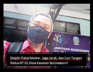 Sambutan Ketua RT.01