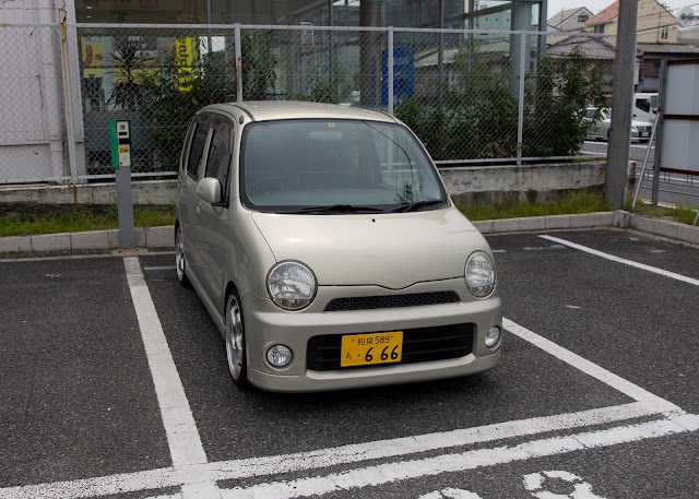 Modified JDM Daihatsu Move Latte