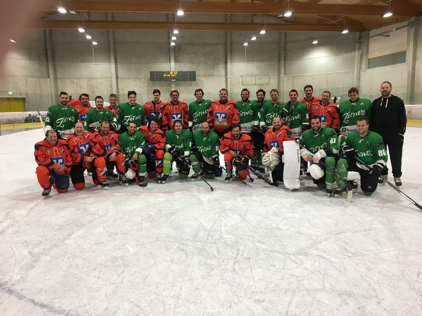 Eishockey Dietramszell: TSV Dietramszell vs. HC Zernez
