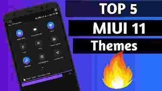 Top 5 Miui 11 themes