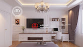 Thiết kế nội thất biệt thự tân cổ điển kiểu Pháp sang trọng - Mã số Nt4023 - Ảnh 2