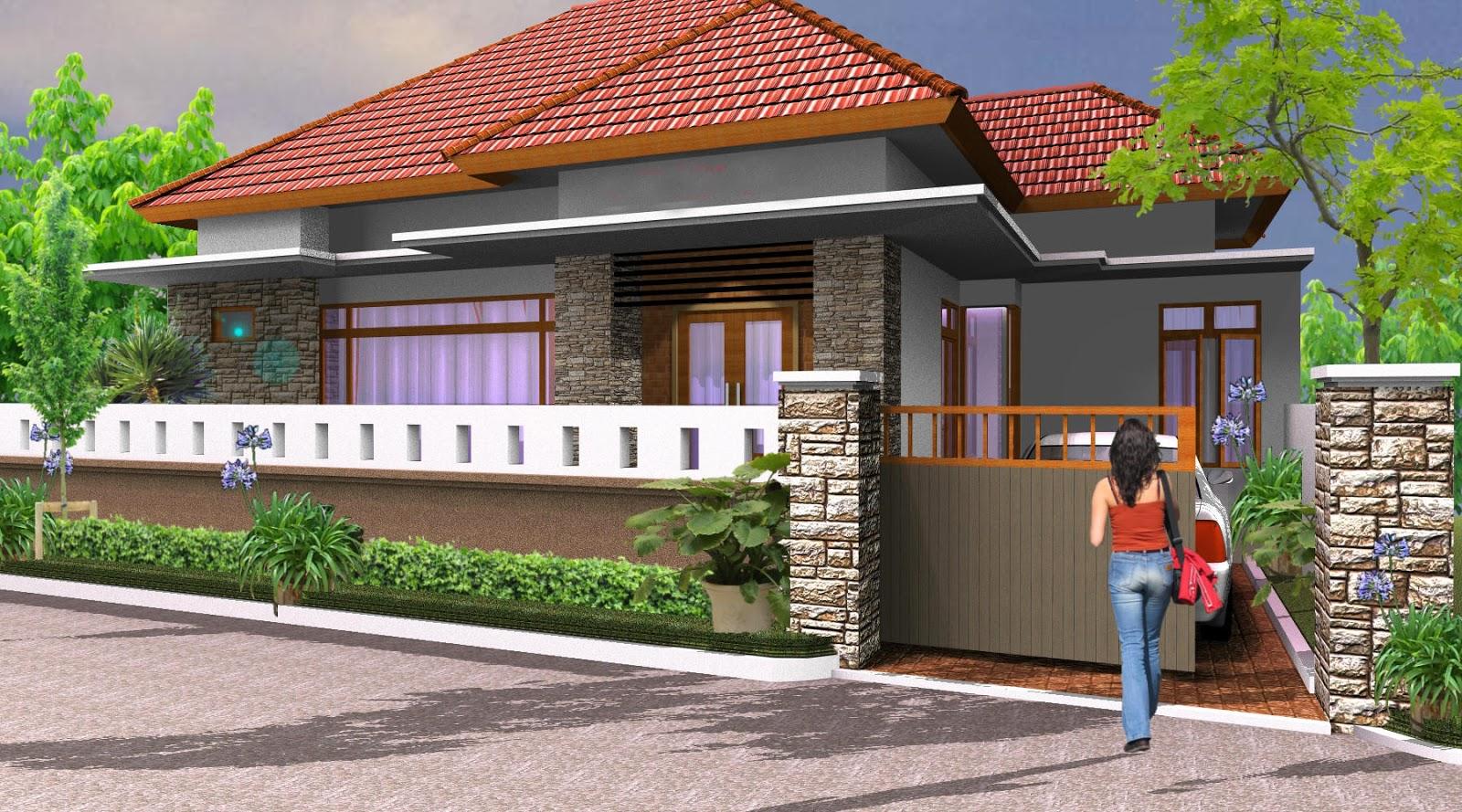 Pagar Rumah Villa   Dekorhom