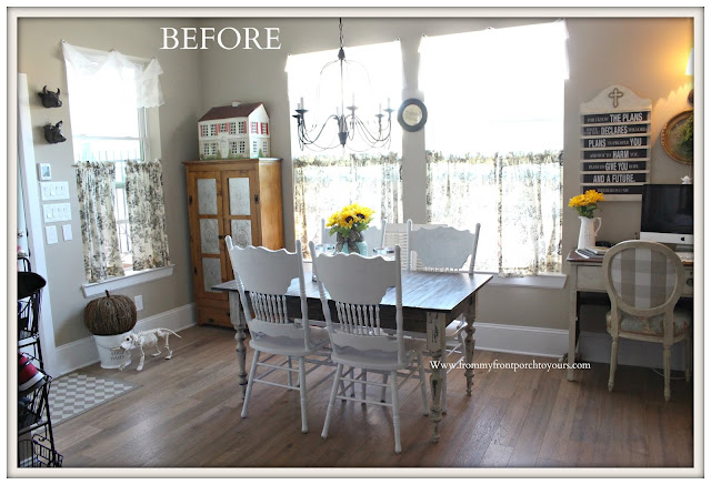 Breakfast- Nook -Makeover-DIY-From My Front Porch To Yours