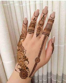 Simple Arabic Mehndi