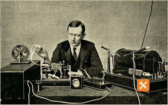 mengenal g marconi ilmuwan barat penemu radio