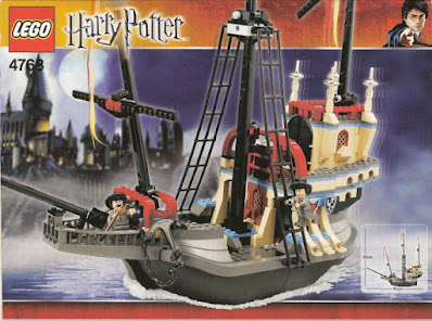 lego harry potter advent calendar 2020 day 4
