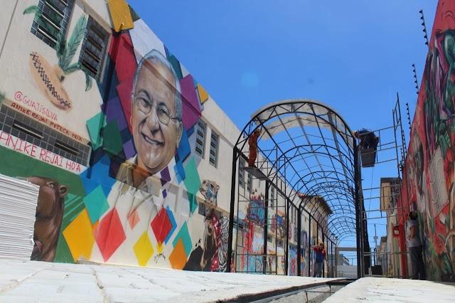 Obras do Espaço Cultural Ruy Pereira entram em fase de conclusão