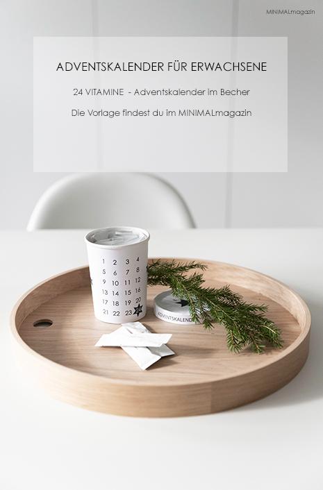 Ein Adventskalender für Erwachsene mit Befüllungsideen zum selber basteln - mit Anleitung und Druckvorlage!