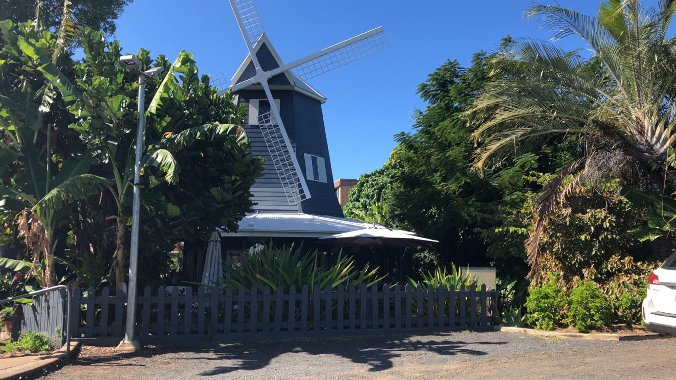 Windmill cafe in Bargara