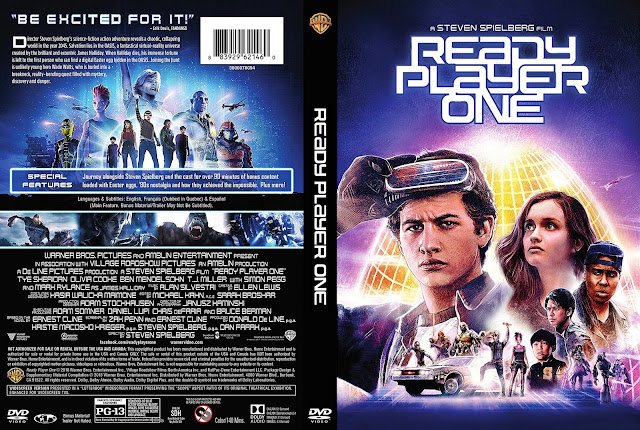 Ready Player One (scan) DVD Cover