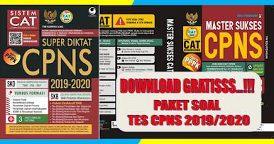 Paket Soal Latihan CPNS dan PPPK 2019