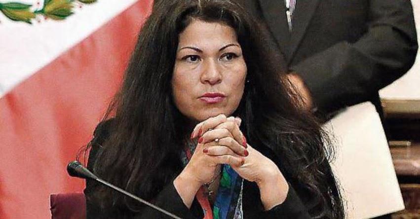 BLINDAN A FUJIMORISTA YESENIA PONCE: Congreso devuelve al Poder Judicial solicitud de levantamiento de inmunidad contra parlamentaria