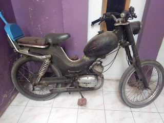 Bantu jual murmer motor antik DKW kondisi apa adanya