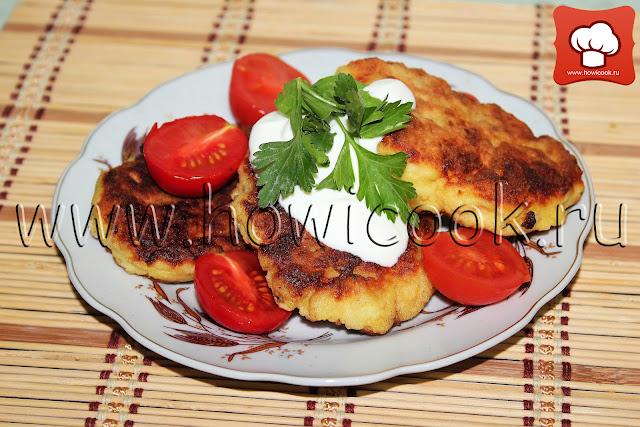 рецепт картофельных котлет с фото