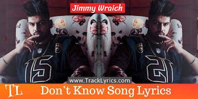 dont-know-punjabi-song-lyrics