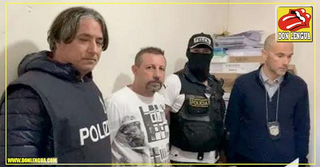 Detenido capo italiano de las drogas en Bolivia pero con documentos VENEZOLANOS