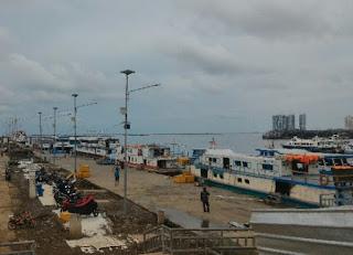Dari Pelabuhan Kali Adem Ke Kepulauan Seribu Jumlah Penumpang Meningkat Pengawasan Tetap Ketat