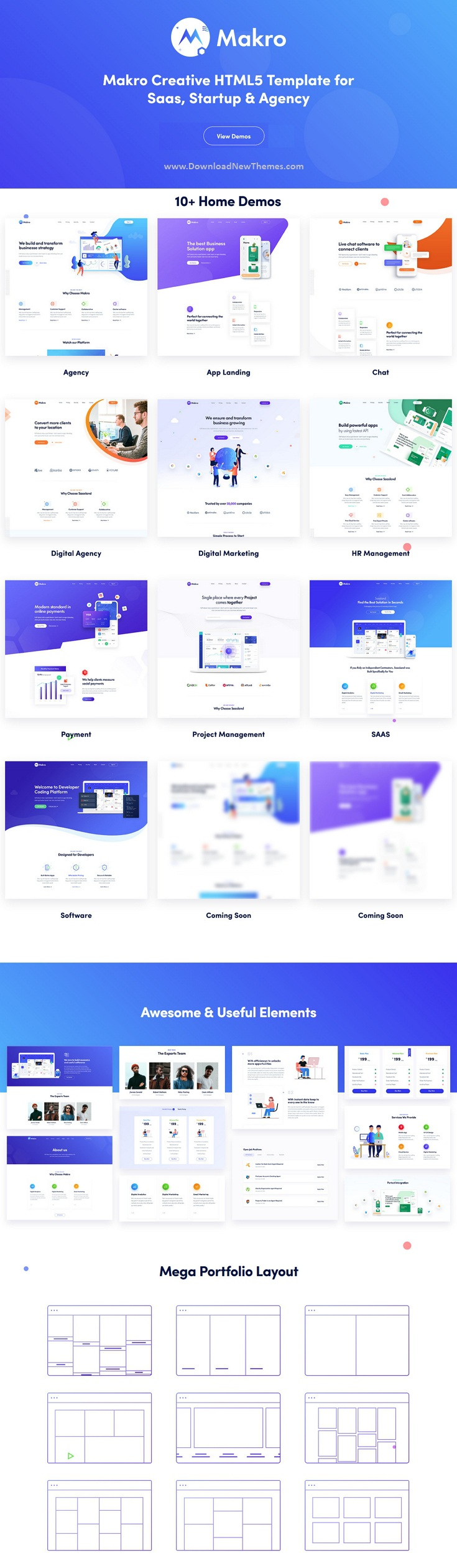 Creative HTML Template For Saas & Startup