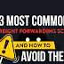 3 Most Common Freight Forwarding Scams and How to Avoid Them #infographic