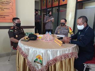 Kapolres Pangkep Pimpin Rapat Koordinasi penegakan hukum  pengendalian Covid-19