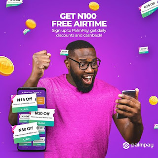 Palmpay Lucky Money: Earn as Much as N500 Free By Participating (Only for New Customers)