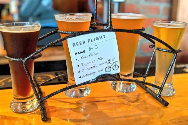 Fun things to do in Cleveland: Have a craft beer flight at Nano Brew