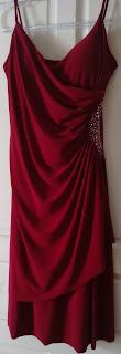 vestido vinho Brind tam 46