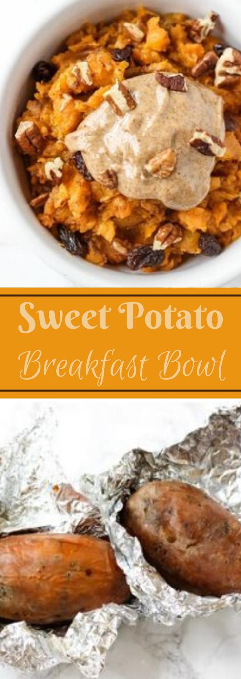 SWEET POTATO BREAKFAST BOWL #potato #breakfast #bowl #healthyrecipes #food