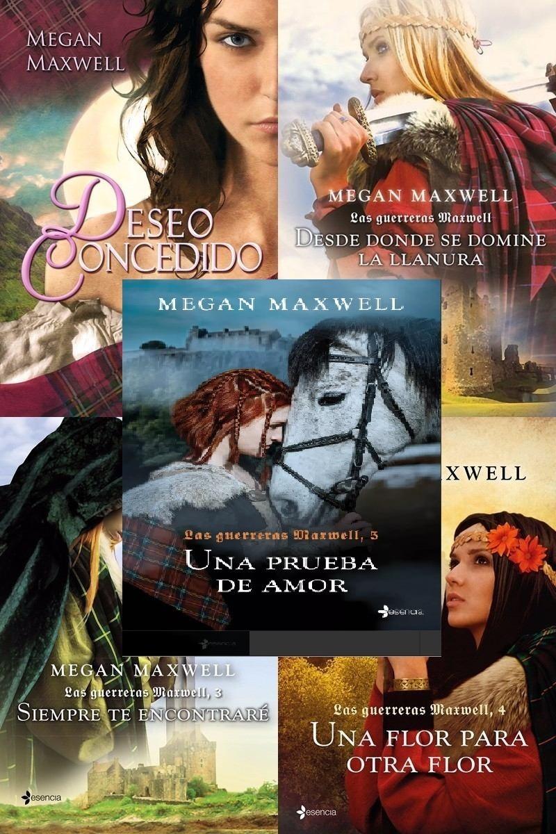Pack De Libros Digital Saga Las Guerreras Maxwell De Megan Maxwell 5 Libros Ebay