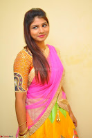 Lucky Sree in dasling Pink Saree and Orange Choli DSC 0355 1600x1063.JPG