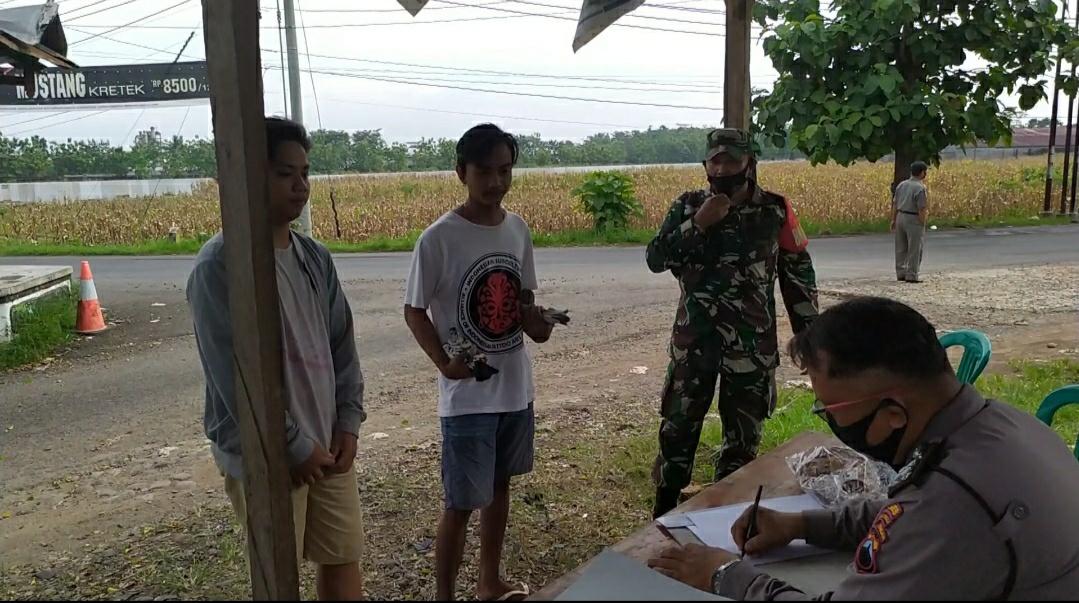 Razia Prokes, Petugas Gelar Operasi di Jalan Tikus