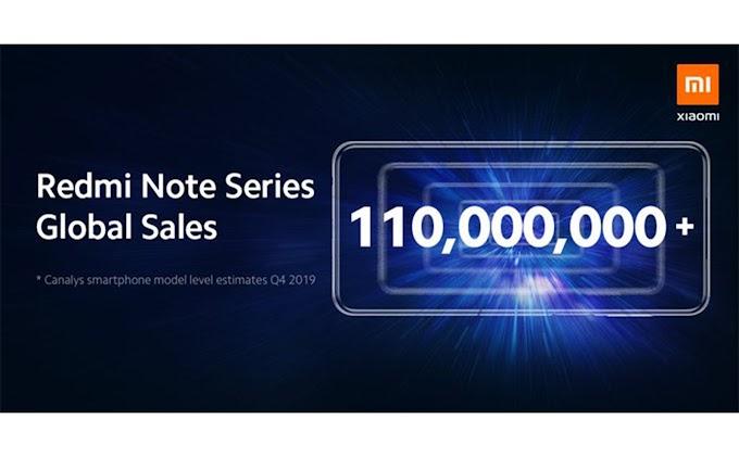 Redmi Note đã bán được hơn 110 triệu thiết bị trên toàn cầu